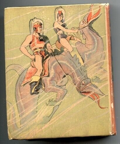 Flash Gordon And Water World Of Mongo-Big Little Book #1407 1937
