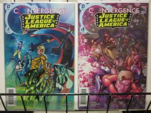CONVERGENCE JUSTICE LEAGUE OF AMERICA (2015) 1-2
