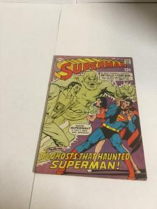 Superman 214 Vg+ Very Good+ 4.5 Water Damage DC Comics Silver Age