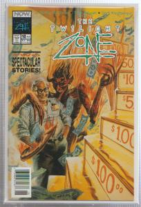 THE TWILIGHT ZONE VOL.#2, ISSUE #10 - NOW COMICS - BAGGED,& BOARDED