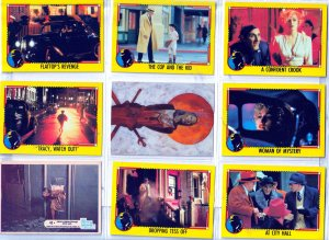 Dick Tracy/Bionic Woman/Everyway Trading Cards