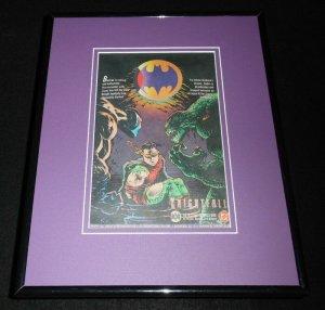 1994 Knightfall Batman DC Comics Framed 11x14 ORIGINAL Advertisement Robin Bane
