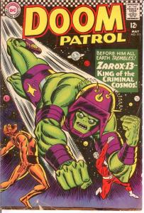 DOOM PATROL 111 VG May 1967 COMICS BOOK