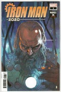 Iron Man 2020 #1 Ward Marvels X Variant (Marvel, 2020) NM