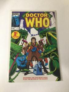 Doctor Who 1 Nm Near Mint Marvel Comics