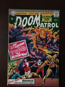 DOOM PATROL! #103 BRAVE & THE BOLD #65 BRIGHT VF CLASSIC FLASH CROSS-OVER!
