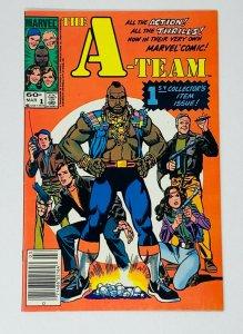 A-TEAM #1-3 SET  (MARVEL) (1984)