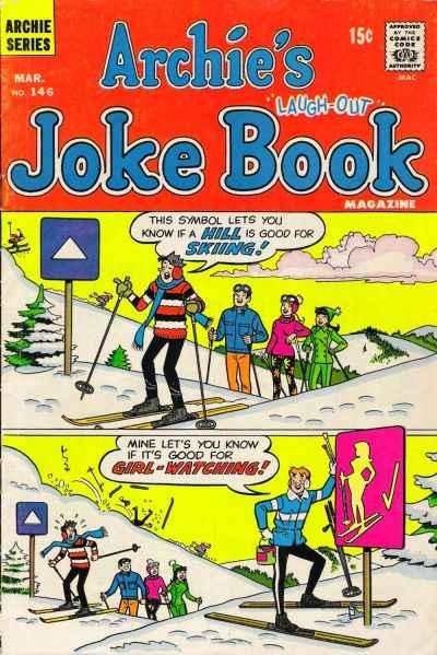 Archie's Joke Book Magazine #146, Fine- (Stock photo)