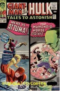 TALES TO ASTONISH #64, VF, Hulk, Steve Ditko, 1964,Silver age,more TTA in store