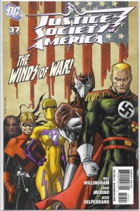 Justice Society of America (vol. 3, 2007) #37 VF (Fatherland 2) Willingham