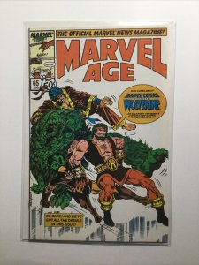 Marvel Age 65 Near Mint Nm Marvel