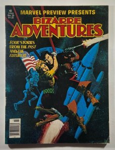 Marvel Preview #20 Bizarre Adventures 1980 Marvel Magazine