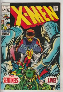 X-Men #57 (Jun-69) VF/NM High-Grade X-Men