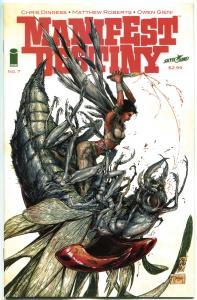 MANIFEST DESTINY #7, NM, 1st print , Lewis Clark trek expedition, Monsters