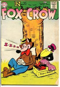 Fox and the Crow #75-Funny Animal Violence-Picnic cover VG