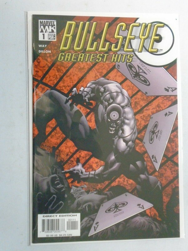 Bullseye Greatest Hits #1 8.0 VF (2004)