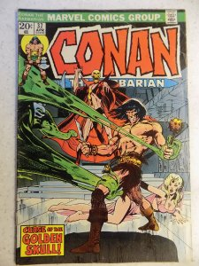 CONAN THE BARBARIAN # 37 MISSING VALUE STAMP