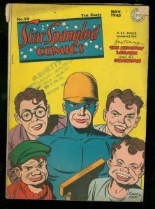 STAR SPANGLED COMICS #50 1945-SIMON & KIRBY-GUARDIAN-DC VG