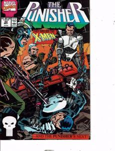 Lot Of 5 The Punisher Marvel Comic Book #29 30 31 33 34 Iron Man AH8