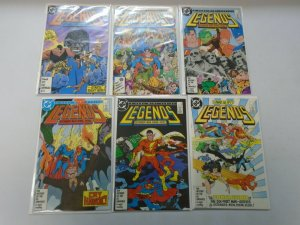 Legends set #1-6 8.0 VF (1986 DC)