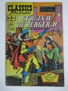CLASSIC ILLUSTRATED #79 (G) CYRANO De BERGERAC (1ST Edition, HRO=78) Jan 1951