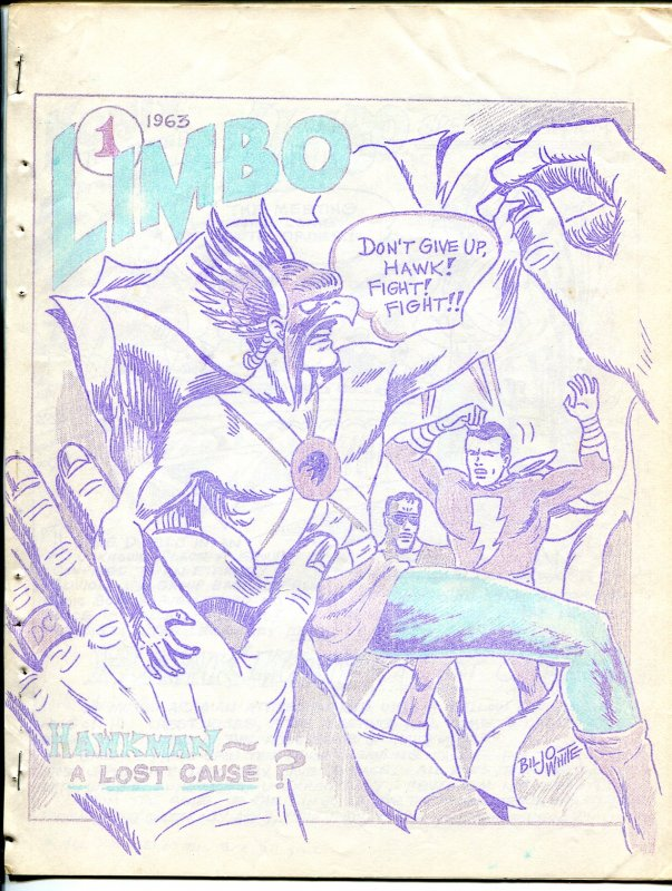 Komix Illustrated #10 1963-Biljo White-Limbo #1 Special Edition-Capt Marvel-VG-