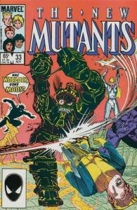 New Mutants, The #33 VF; Marvel | save on shipping - details inside