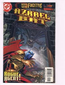 Azrael Agent Of The Bat #91 VF DC Comics Rogue agent Comic Book DE12
