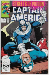 Captain America   vol. 1   #374 FN (Streets of Poison 3)