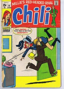 Chili #14 ORIGINAL Vintage 1970 Marvel Comics