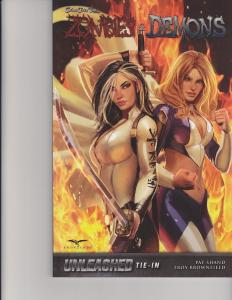 Zombies and Demons Trade Paperback TPB Unleashed GFT Zenescope