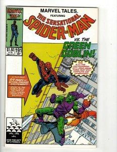 Lot Of 10 Marvel Tales Comic Books # 191 193 194 195 196 197 198 200 201 202 UD2