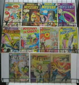 DC SILVER AGE SCI-FI SET!  11 BOOKS- READER'S COPIES! Martian Manhunter, Dial H