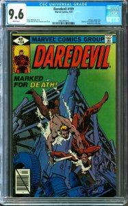 Daredevil #159 CGC Graded 9.6 Bullseye Appearance