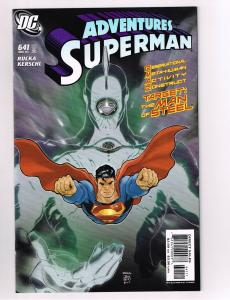 Superman # 641 DC Comic Book Lex Luthor Batman Super-Heroes Justice League S11