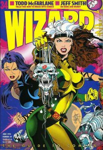 Wizard: The Comics Magazine #34 FN; Wizard | save on shipping - details inside