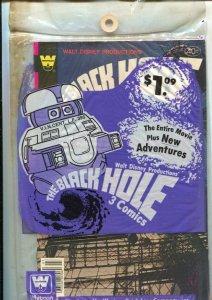 Black Hole Whitman Comics 3-Pak 1979 #'s 1, 2 & 3-Whitman-unopenedDisney Movi...