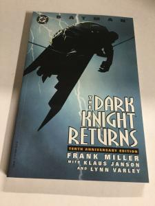 Batman The Dark Knight Returns Tenth Anniversary Edition Nm Near Mint DC SC TPB