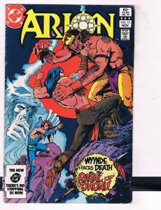 Arion #13 VG/FN DC Comics Bronze Age Comic Book Nov 1983 DE48