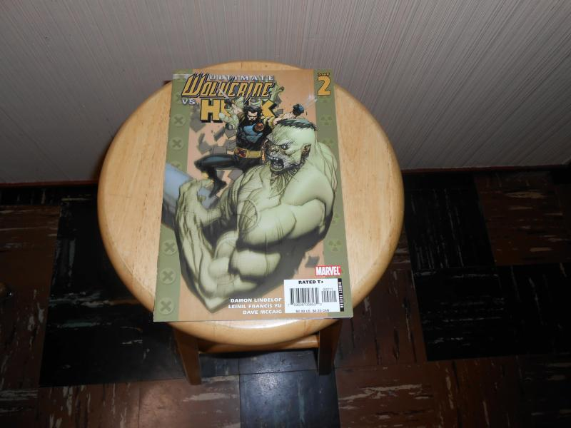 Ultimate Wolverine vs. Hulk (2006) #2A Apr 2006 Cover price $2.99 Marvel