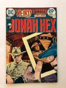 DC Weird Western Tales~JONAH HEX #22 June 1974 FINE/VERY FINE  (A165)
