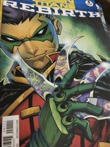 DC Rebirth Teen Titans #1 Mint Hot