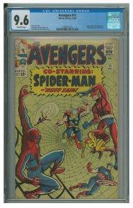 Avengers #11 (Marvel, 1964) CGC Graded 9.6