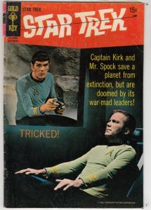 Star Trek #5 (Sep-69) VG+ Affordable-Grade Captain Kirk, Mr Spock, Bones, Sco...
