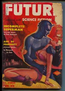 Future Science Fiction-Pulp-3/1951-Lester del Rey-Poul Anderson-Noel Loomis
