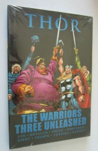 Thor Warriors Three Unleashed #1 hardcover minimum 9.0 NM in cellophane (2011)