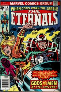 The Eternals #6, 5.0 or Better