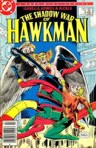 Shadow War of Hawkman, The #3 (Newsstand) VG; DC | low grade comic - save on shi