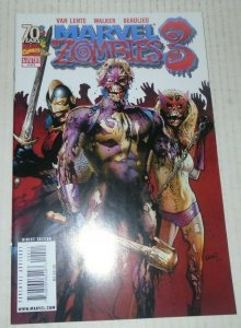 Marvel Zombies 3 # 4 March 2009 Marvel