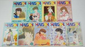 Maison Ikkoku part 5 #1-9 VF/NM complete series - viz select comics manga five